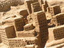 Sand. Big city is build on sand Stock Images