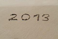 Sand 2013 Stockbild