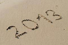 Sand 2013 Stockfotografie