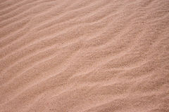 Sand. Small ripples of sand in the desert Royalty Free Stock Image