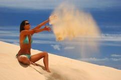 Sand Lizenzfreies Stockfoto