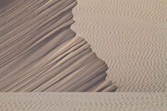 Sand Abstract. Natural abstract created by fine sand and wind stock photo