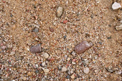 Sand - aggregate Royalty Free Stock Images