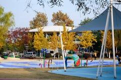Sand amusement park Royalty Free Stock Photos
