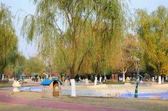 Sand amusement park Stock Photo