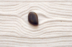 Sand And Stone Royalty Free Stock Image
