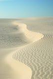 Sand-Antrieb Stockfoto