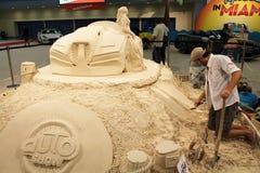 Sand Artist 2015 Royalty Free Stock Photo