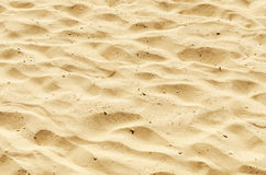 Sand as texture and background Stock Photos