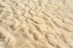 Sand as textured background Royalty Free Stock Images
