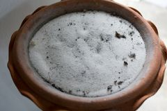 The sand in the ashtray Stock Images