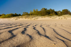 Sand auf dem Strand Lizenzfreies Stockbild