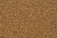 Sand auf Strand nahaufnahme Stockfotos
