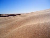 Sand av dyner Royaltyfria Bilder
