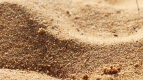Sand av stranden arkivbilder