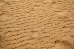 Sand Background. A rippled pattern sand background Stock Image