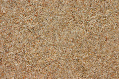 Sand background. Beach sand background, natural texture, brown color, copy space Stock Images