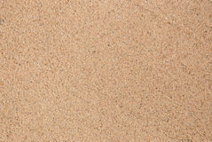 Sand background. Closeup of sand pattern of a beach Royalty Free Stock Photography