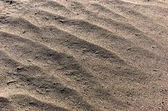 Sand background. Sandy beach texture Macro shot. A lot of Copy space Royalty Free Stock Images