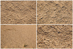 Sand background.Set Stock Image