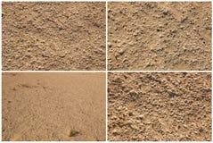 Sand Background.Set Stock Image