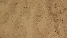 Sand background. (sand surface photo Royalty Free Stock Photography