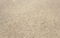 Sand background texture. Close up image Royalty Free Stock Photo