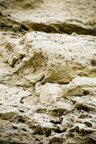 Sand Background Texture. A close up on layers of sand on an eroding cliff face Stock Photography