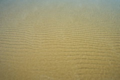 Sand background texture. Crystal clear sand background texture under water Stock Images