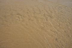 Sand background texture. Crystal clear sand background texture under water Stock Photo
