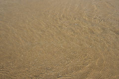Sand background texture. Crystal clear sand background texture under water Royalty Free Stock Photo