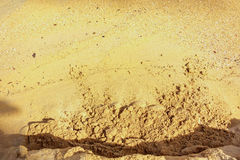 Sand background texture. Sea sand background texture on the beach Royalty Free Stock Photo