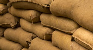 Sand Bags Stock Images