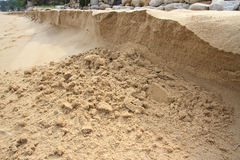 A sand bank Stock Photography
