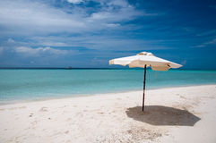 Sand bank in Maldives Royalty Free Stock Image