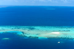 Sand bank in Male Atoll, Stock Photos