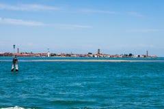 Sand-Bank Murano Venedig Lizenzfreies Stockbild