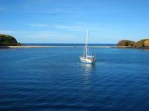 Sand bank in Yasawa Islands, Fiji Royalty Free Stock Images