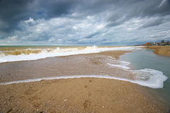 Sand bar Stock Images