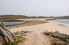 Sand bar islands Royalty Free Stock Photos