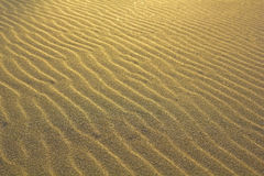 Sand on the beach. Royalty Free Stock Images