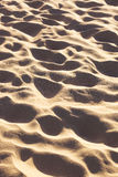 The sand on the beach Stock Photography