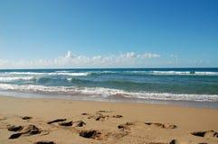 Sand beach. A beatifull sandy beach, for a dreamy vacation Royalty Free Stock Photography