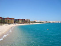 Sand beach. Beautiful sand beach in Hurghada, Egypt Stock Photography