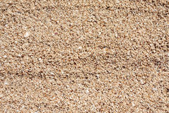 Sand on the beach Royalty Free Stock Photography