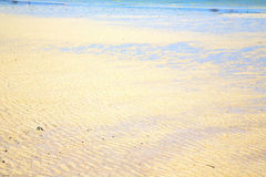 Sand in the beach abstract thailand kho low tide  sea Royalty Free Stock Photography