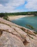Sand Beach, Acadia Stock Image