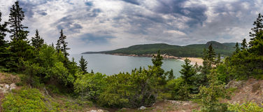 Sand Beach - Acadia National Park Royalty Free Stock Photo