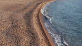 Sand beach stock video