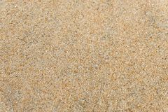 Sand on the beach as background or Sand texture background - Top view. royalty free stock images